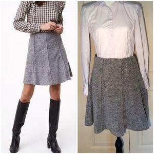 LOFT Soft Gray Skirt NWT Medium